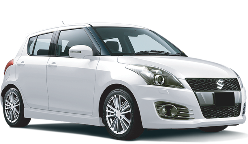 SUZUKI SWIFT car hire in Barbados