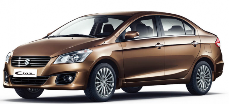 SUZUKI CIAZ car hire in Barbados